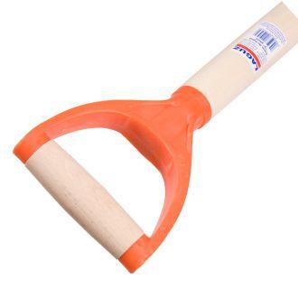 Черенок для лопат с У-образной пластмассовой ручкой диаметром 38 мм