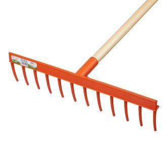Plastic rake KLIK 16 teeth. quantity/pack.